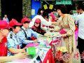 广东惠州桥东街道党工社工义工联动 服务更贴心