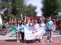 六里屯社区青年汇组织青年参加志愿服务活动