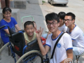 郑州大学启明社会工作协会下乡访问寄养家庭