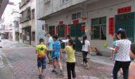 社区走访绘地图 儿童安全共守护