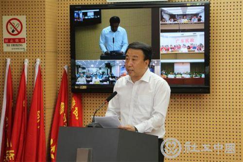北京市民政局局长李万钧发言