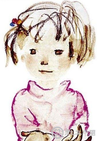 小豆豆插图,作者:岩崎千弘