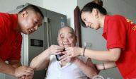 重庆江津阳光社工重阳为社区高龄老人服务