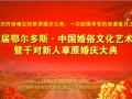 首届鄂尔多斯·中国婚俗文化艺术节--暨千对爱侣草原婚庆大典