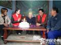亳州:社会工作者为耄耋老人做大寿