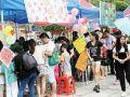 广东义工社工居委联合举办传统文化节