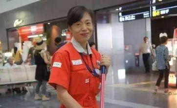 这位来自中国的大妈,靠打扫卫生征服了日本