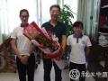 鲜花谢师恩,桃李感恩情——尚德社工开展教师节庆祝活动