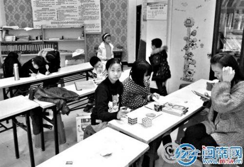 晋江竹园社区4点钟学校颇具特色
