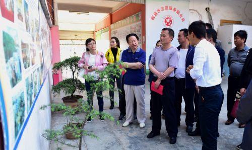 004、臧庆福向考察团介绍安然的社会工作发展情况