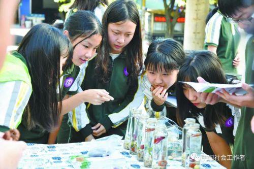 东莞五所学校社工9年累计服务人次超70万
