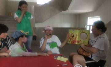 长春青少年事务社工成功举办亲子病房读书会