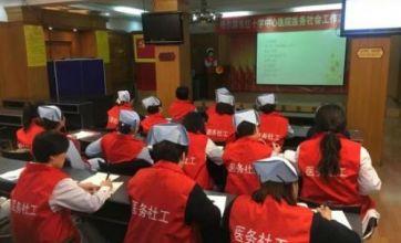 哈尔滨市红十字中心医院成立医务社工志愿队