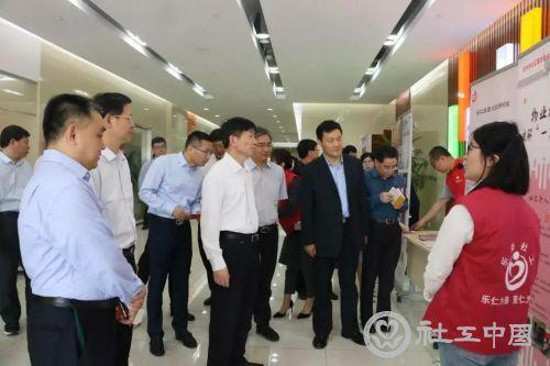 黄树贤部长来苏调研:打造更具苏式社区特色的服务
