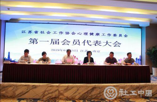 江苏省社会工作协会心理健康工作委员会正式成立