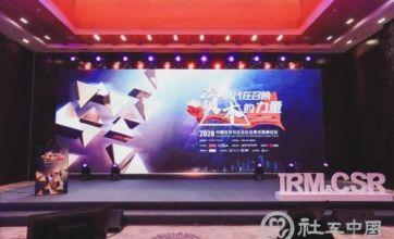 2020中国经济与企业社会责任高峰论坛在京举行